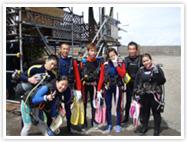 海洋実習|静岡|ダイビング
