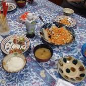 沖縄の朝ご飯